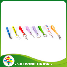 Colorful Custom Printed Silicone Keychain