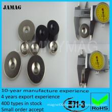 Permanent strong magnet standard neodymium magnet grade n35