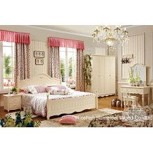 Hochwertiges klassisches hölzernes Möbel-Schlafzimmer-Set (HF-MG601)
