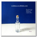 40ml Engraved Glass Wine Bottle with Cork