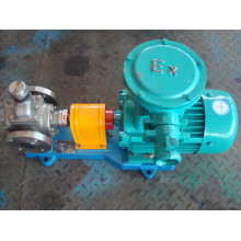 Ycb0.6-0.6 bomba de óleo de engrenagem de arco de aço inoxidável