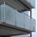 Spezielle Edelstahl-Glas-Klemme für Handlauf-Tube (CR-060)