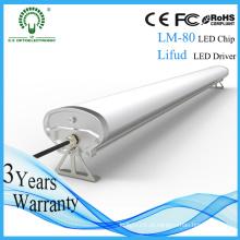 Preço competitivo Epistar Lumen elevado 60W 150cm Tubo Tri-Proof do diodo emissor de luz