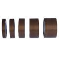 Клейкая лента из стекловолокна с коричневым покрытием из ПТФЭ 0,13 мм