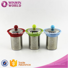 Mother's Day Promotional Gift Metal Tea Cup Filter/Tea Strainer/Tea Steeper