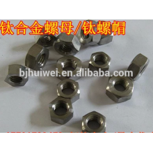 hot sale titanium hex head nut