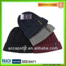 Kundenspezifische hochwertige Acryl-Strickmütze mit Ihrem Logo BN-2032