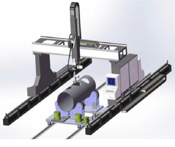1Gantry Cutting Robot of Intersecting Lines1