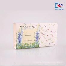 Caja de papel corrugado de cartón de cartón de diseño personalizado de las ventas directas de China para blanquear jabón