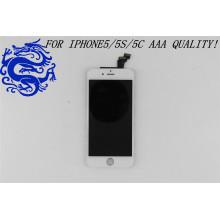 Painel LCD móvel do telefone da exposição do toque da substituição do produto chinês para o iPhone 5c LCD de Apple