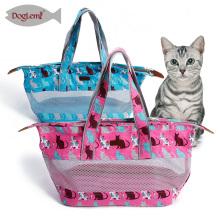 Porte-photo mignon de chat de transporteur de chien de produits d'animal familier de toile pour le petit animal de compagnie