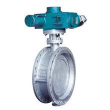 Metal Hard Sealed Flange Butterfly Valve
