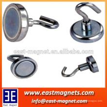 Tipo permanente gancho magnético personalizado