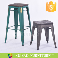 Cheap Metal Stool Outdoor Metal Stool Vintage Industrial Metal Barstool