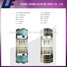 Panoramic Passenger Elevator / Residential Glass Elevators