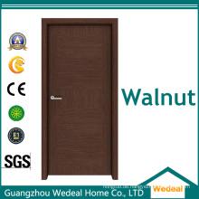 Customize Holzfurnier MDF Flush Walnut Solid Core Tür