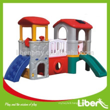 Children Indoor Playhouse With Slide LE.HT.015