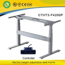 Patas de escritorio de altura ajustable Sentarse a la estación de trabajo Mesa de motor ajustable doble