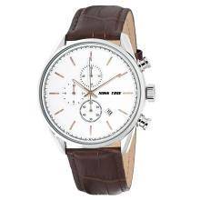 luxury case display leather men wrist watch