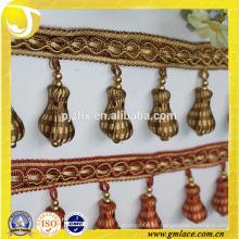 Erdnuss Perlen Trimmen für Vorhang und Kissenbezug