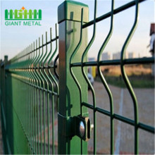 PVC Coated Triangle Bending Fence Dengan Post Square