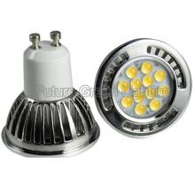 GU10 Luz de bulbo do diodo emissor de luz 12PCS 3020SMD 5W (TUV / CE / RoHS)