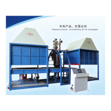 Auto batch pu foam making machine
