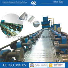 Metal Cable Tray Roll Forming Machine