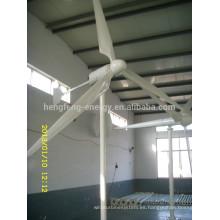 Alta eficiencia 1kw a 100kw generador eólico