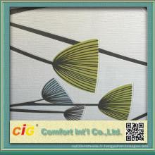 Design d'impression Décoration intérieure Utilisation PVC Fond d'écran