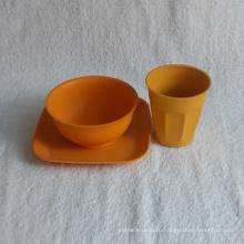 (BC-CS1059) Горячая продажа красивой Эко Bamboo Fiber посуда