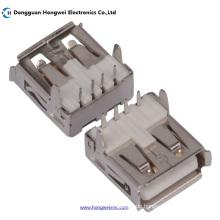 Af Weiblich T Typ 90degree 4pin USB 2.0 Stecker
