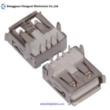 Af Female T Тип 90degree 4pin USB 2.0 Разъем