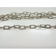 Nickel Plated Metal Clock Chain