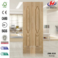 Double Oak Veneer Unequal Leaves Door Panel