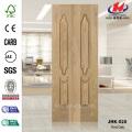 Double Oak Veneer Unequal Leaves Door Panel