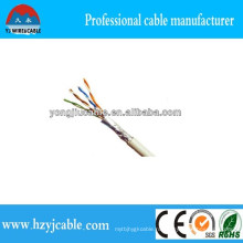 FTP Cat5e LAN кабель 4pr 24AWG Заводской кабель Цена Шанхайская фабрика Yiwu Лучшее качество CCA Cu