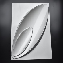 Silvery Decorative Wall Panel