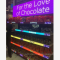 900X300 GOB smart shelf led display supermarket shelf