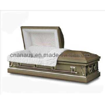 China caixão (ANA) caixão de Metal para Funeral