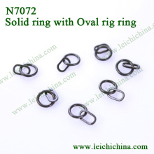Solid Ring with Oval Rig Ring Hinge Rings