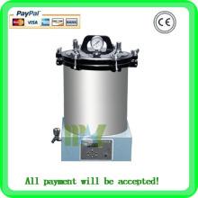 MSLPS01 machine autoclave portable 18L / 24L homologation CE meilleur prix