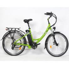 Großhandelspreis neueste Modell Damen Stadt Fahrrad elektrische Straße Fahrrad