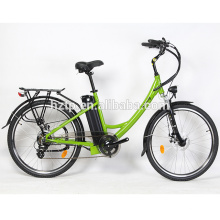 Bicicleta eléctrica del camino de la bici de la ciudad de las señoras del último modelo al por mayor
