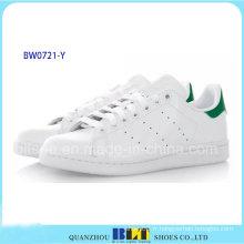 Vente chaude marque Casual chaussures en cuir blanc Stan Smith