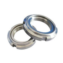 Stainless Steel Locknut DIN981 with Nylon Inserted