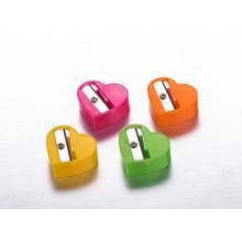 Сердце Пластиковые дешевые Точилки для карандашей для школы