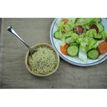 Semilla de cáñamo pelada de calidad alimentaria vegana