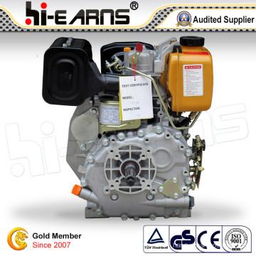 6HP Diesel Engine Recoil Start with Keyway Shaft (HR178F)