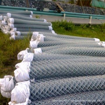Clôture de treillis métallique à mailles galvanisées par électro